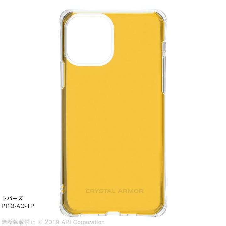 iPhone 11 Pro ケース CRYSTAL AQUA 耐衝撃クリアケーストパーズ iPhone 11 Pro_0