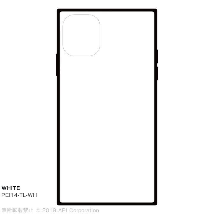 iPhone 11 ケース EYLE TILE スクエア型ケース WHITE iPhone 11_0