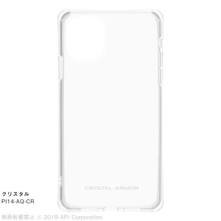 CRYSTAL AQUA 耐衝撃クリアケースクリスタル iPhone 11_0