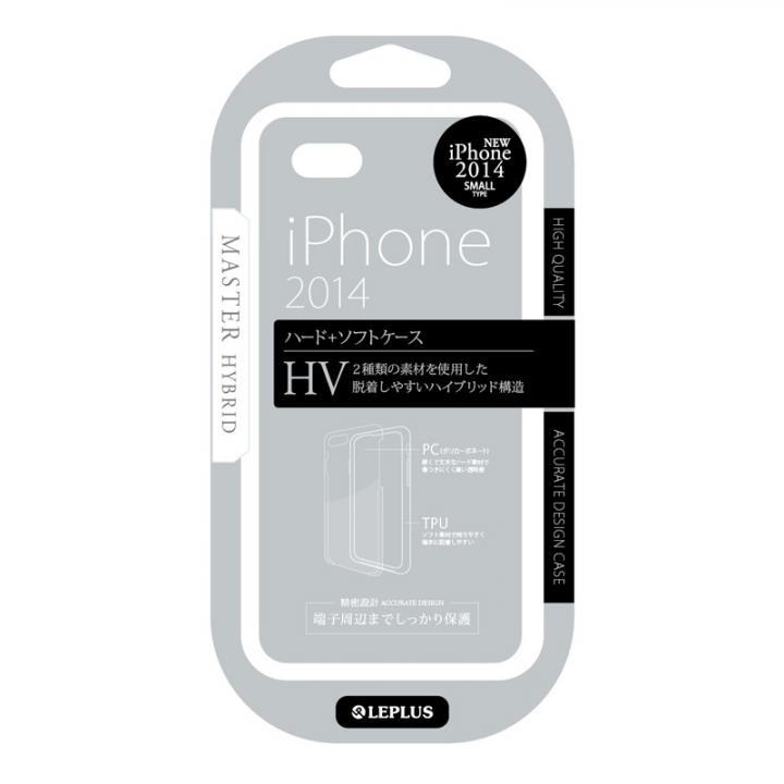 ハイブリッドケース MASTER HV スモーク iPhone 6ケース