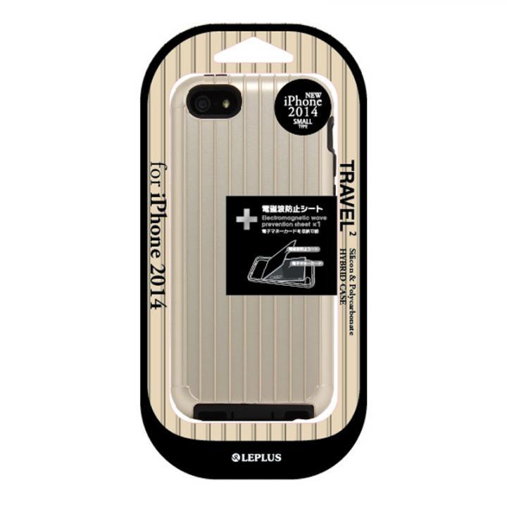 【iPhone6ケース】ハイブリッドケース TRAVEL 2 ゴールド iPhone 6ケース_0