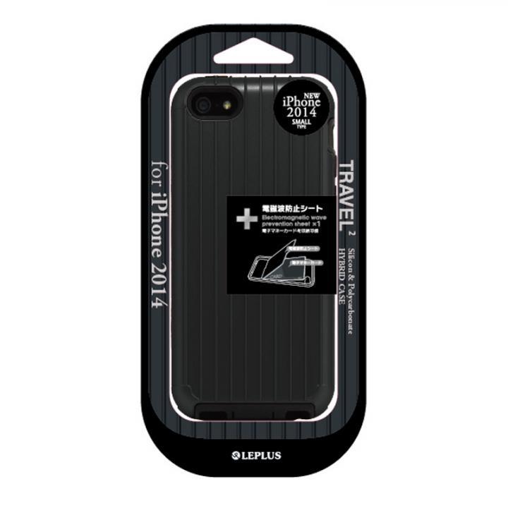 【iPhone6ケース】ハイブリッドケース TRAVEL 2 ブラック iPhone 6ケース_0