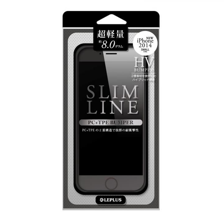 iPhone6 ケース ハイブリッドバンパー SLIM LINE ブラック iPhone 6バンパー_0