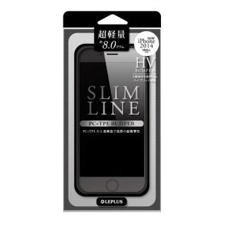 ハイブリッドバンパー SLIM LINE ブラック iPhone 6バンパー