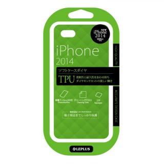 TPUケース ダイヤカットデザイン エメラルドグリーン iPhone 6ケース
