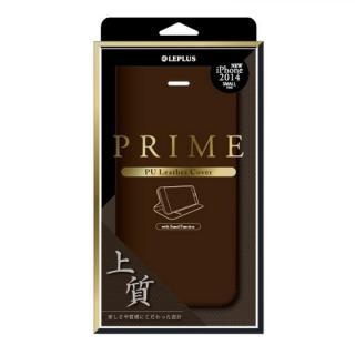 PUレザー手帳型ケース PRIME ブラウン iPhone 6ケース