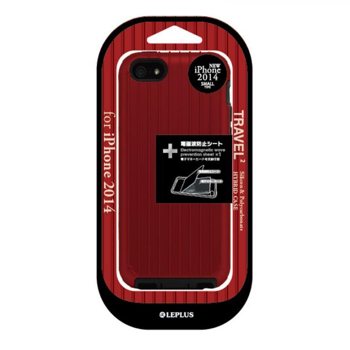 ハイブリッドケース TRAVEL 2 レッド iPhone 6ケース