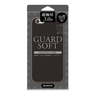 極厚3.0mm シリコンケース GUARD SOFT ブラック iPhone 6ケース
