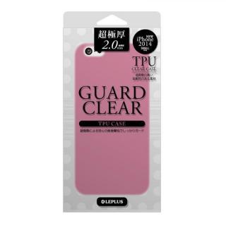 極厚2.0mm TPUケース GUARD CLEAR ピンク iPhone 6ケース