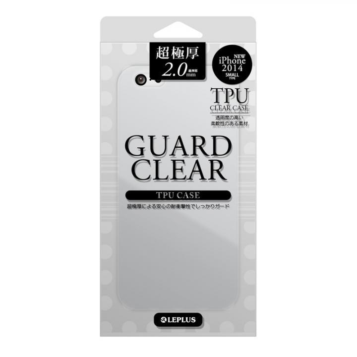 極厚2.0mm TPUケース GUARD CLEAR クリア iPhone 6ケース