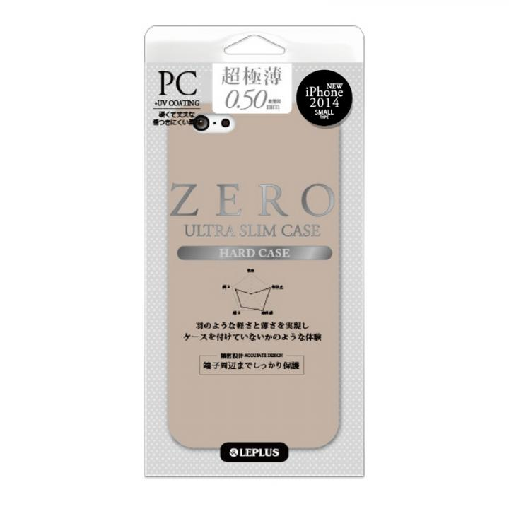 超極薄0.5mm ハードケース ZERO HARD ブラウン iPhone 6ケース