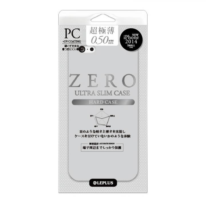 超極薄0.5mm ハードケース ZERO HARD スモーク iPhone 6ケース