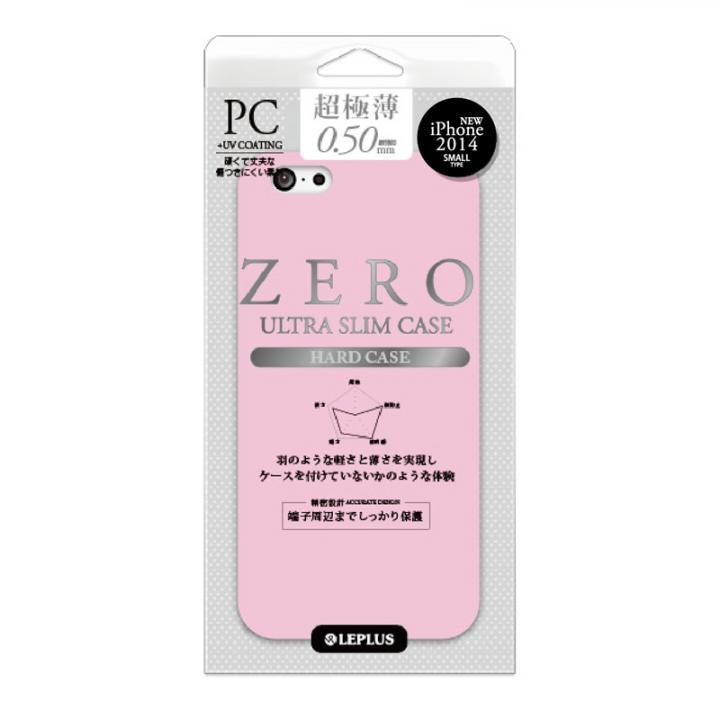 【iPhone6ケース】超極薄0.5mm ハードケース ZERO HARD シルキーピンク iPhone 6ケース_0