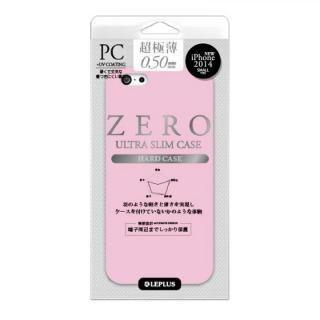 超極薄0.5mm ハードケース ZERO HARD シルキーピンク iPhone 6ケース