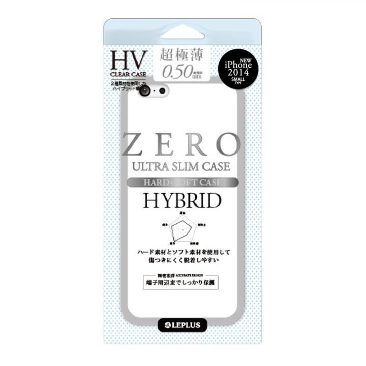 【iPhone6ケース】超極薄0.5mm ハイブリッドケース ZERO HV クリア+スモーク iPhone 6ケース_0