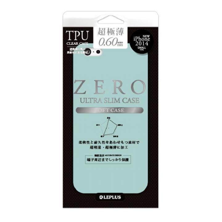 iPhone6 ケース 超極薄0.6mm TPUケース ZERO TPU エメラルドグリーン iPhone 6ケース_0