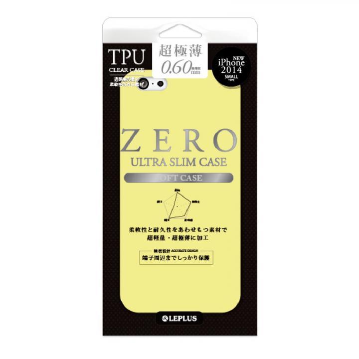【iPhone6ケース】超極薄0.6mm TPUケース ZERO TPU イエロー iPhone 6ケース_0
