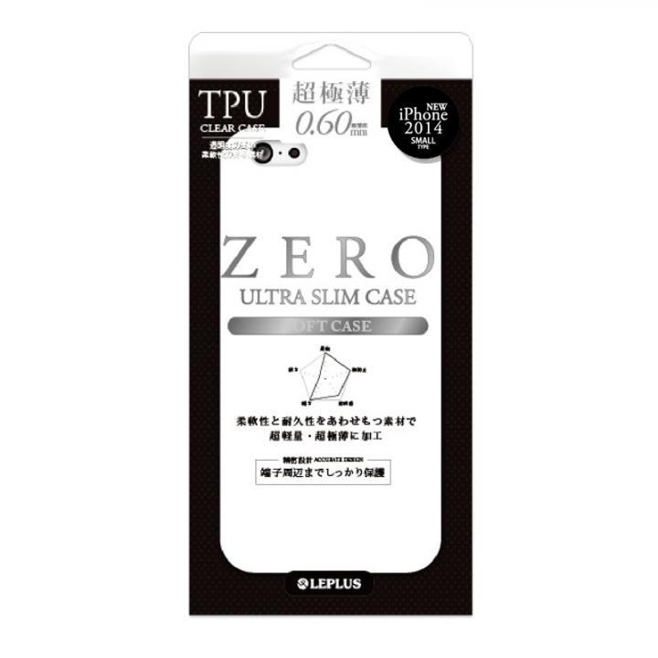 iPhone6 ケース 超極薄0.6mm TPUケース ZERO TPU クリア iPhone 6ケース_0