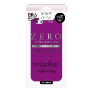 超極薄0.4mm ハードケース ZERO SLIM HARD パープル iPhone 6ケース