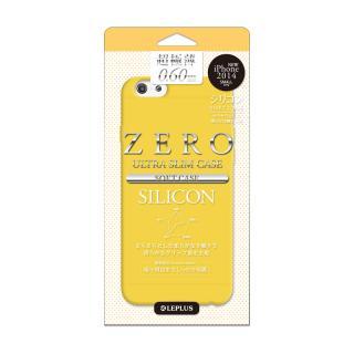 超極薄0.6mm シリコンケース ZERO SILICON オレンジ iPhone 6