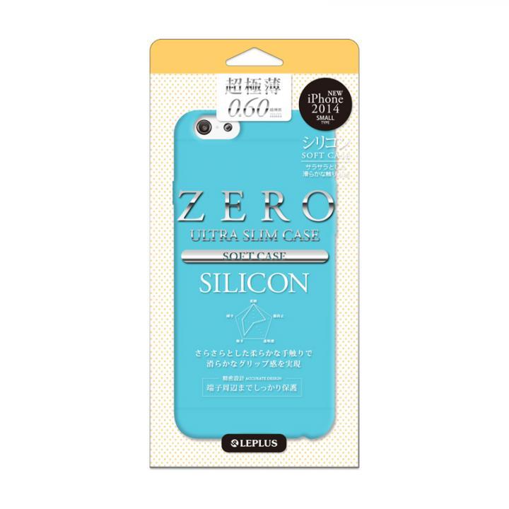 【iPhone6ケース】超極薄0.6mm シリコンケース ZERO SILICON ブルー iPhone 6_0