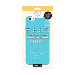 超極薄0.6mm シリコンケース ZERO SILICON ブルー iPhone 6