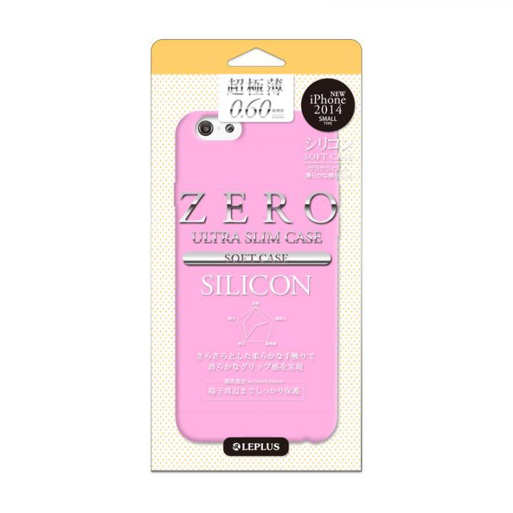 【iPhone6ケース】超極薄0.6mm シリコンケース ZERO SILICON ピンク iPhone 6_0