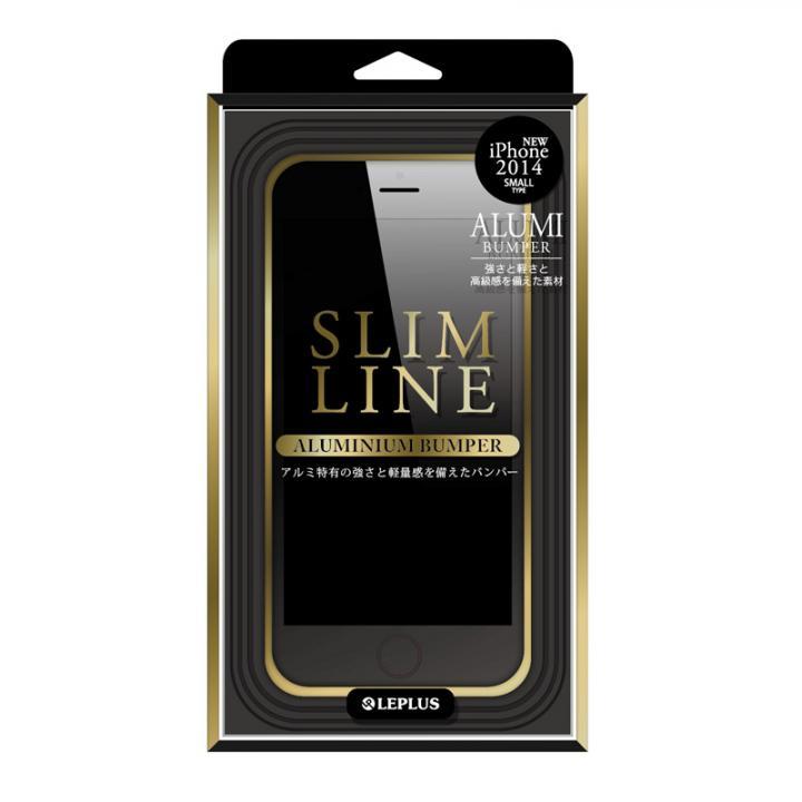 【iPhone6ケース】SLIM LINE アルミニウムバンパー ゴールド iPhone 6バンパー_0