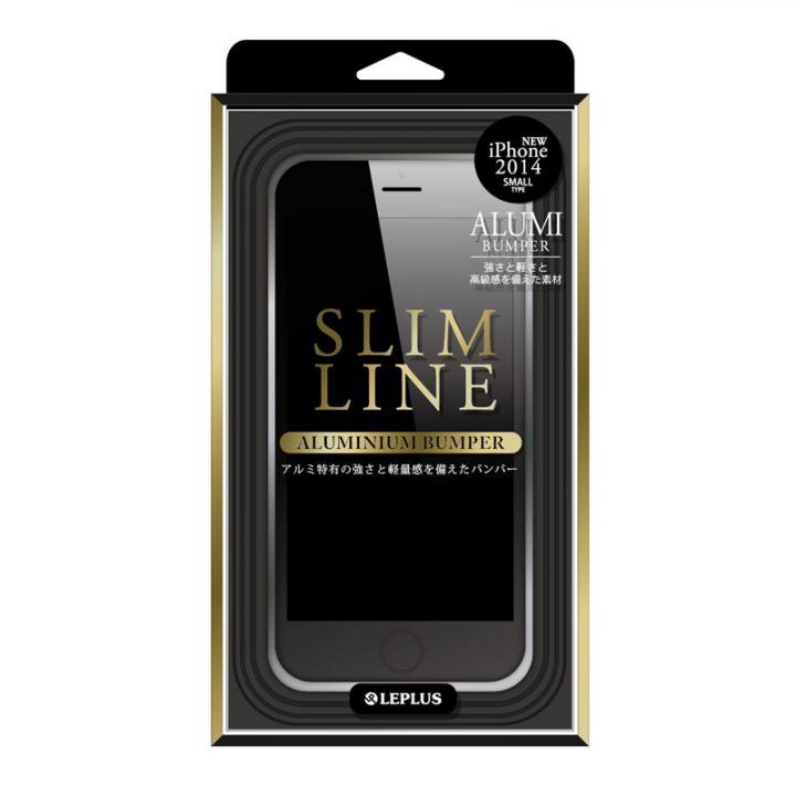 SLIM LINE アルミニウムバンパー シルバー iPhone 6バンパー
