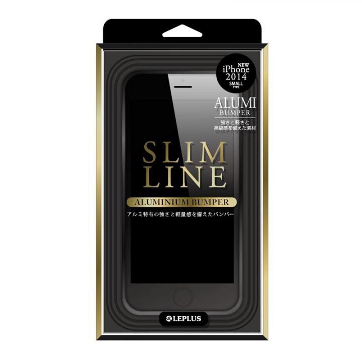 【iPhone6ケース】SLIM LINE アルミニウムバンパー ブラック iPhone 6バンパー_0