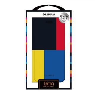 TETRA デザインPUレザー手帳型ケース パターンC iPhone 6ケース