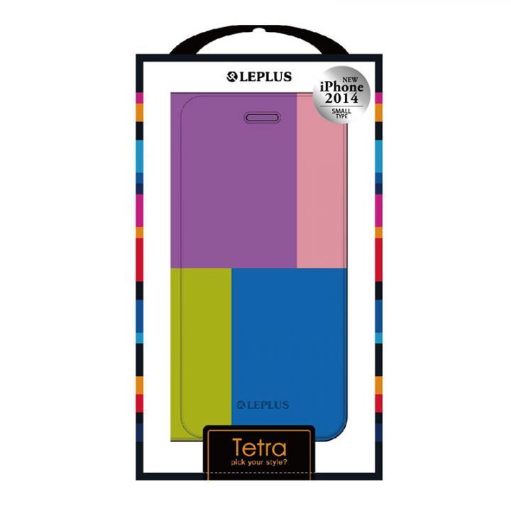 TETRA デザインPUレザー手帳型ケース パターンB iPhone 6ケース