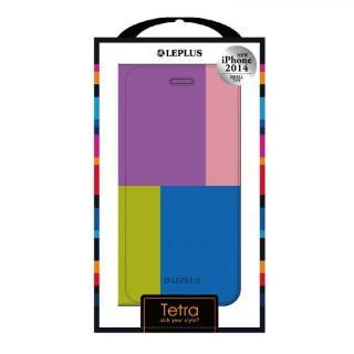 【iPhone6ケース】TETRA デザインPUレザー手帳型ケース パターンB iPhone 6ケース