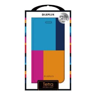 【iPhone6ケース】TETRA デザインPUレザー手帳型ケース パターンA iPhone 6ケース