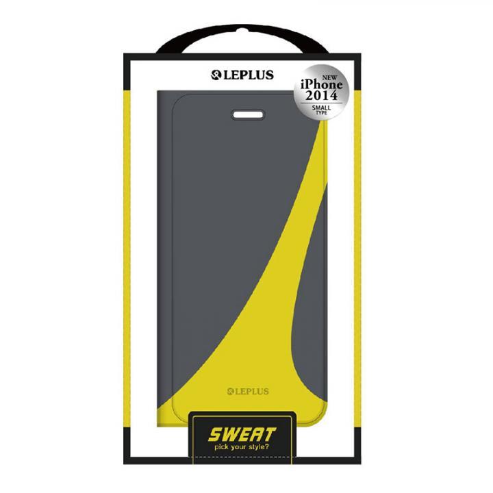 SWEAT デザインPUレザー手帳型ケース グリーン iPhone 6ケース