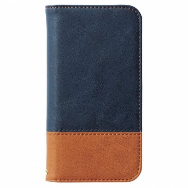 iPhone6s ケース ツートンカラー手帳型ケース ネイビー/オレンジ iPhone 6s_0