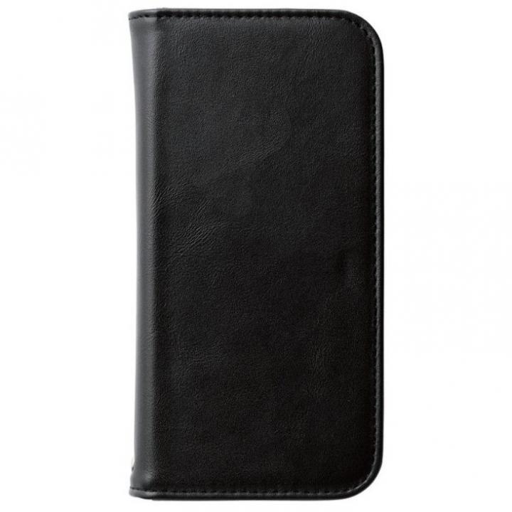 【iPhone6sケース】360度回転スタンド ソフトレザー手帳型ケース ブラック iPhone 6s_0