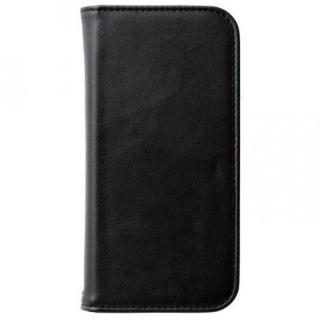 360度回転スタンド ソフトレザー手帳型ケース ブラック iPhone 6s