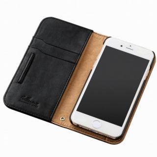 【iPhone6sケース】360度回転スタンド ソフトレザー手帳型ケース ブラック iPhone 6s_1