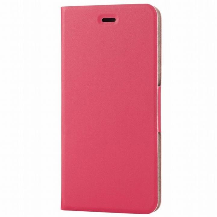 iPhone6s Plus ケース 薄型ソフトレザー手帳型ケース ピンク iPhone 6s Plus_0