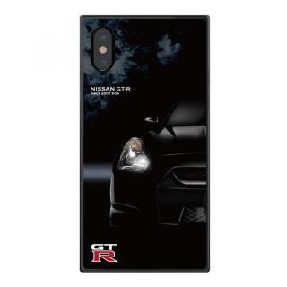 【iPhone Xケース】日産(NISSAN) GT-R スクエア型 R35 iPhone X