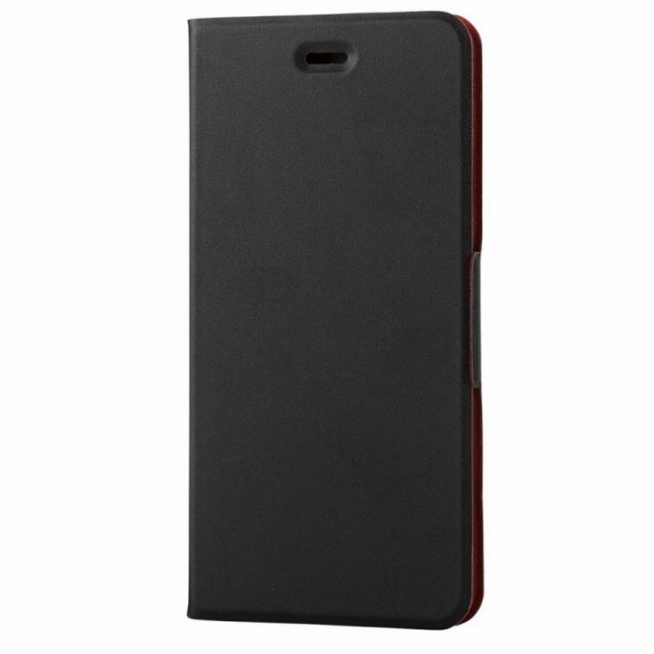iPhone6s Plus ケース 薄型ソフトレザー手帳型ケース ブラック iPhone 6s Plus_0