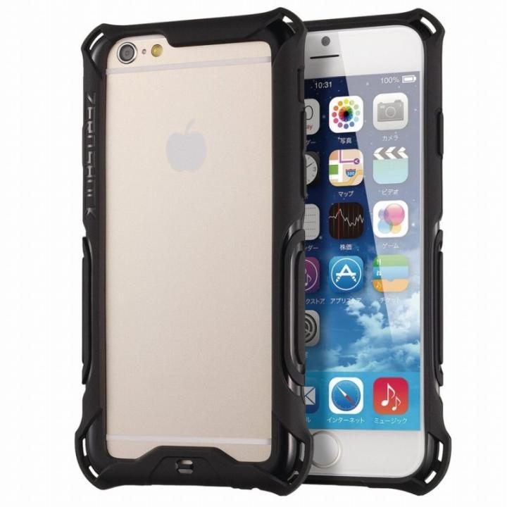 耐衝撃バンパー ZEROSHOCK ブラック iPhone 6s