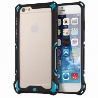 耐衝撃バンパー ZEROSHOCK ブルー iPhone 6s