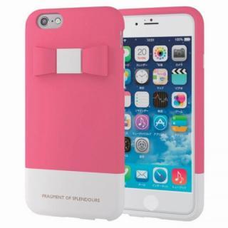 シリコンケース リボン ピンク iPhone 6s
