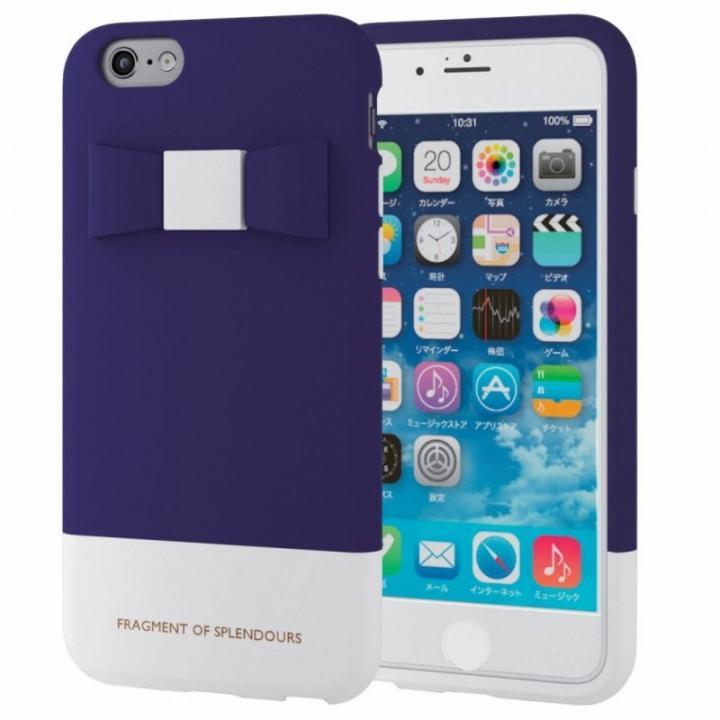 シリコンケース リボン ブルー iPhone 6s