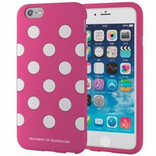 シリコンケース ドット ピンク iPhone 6s