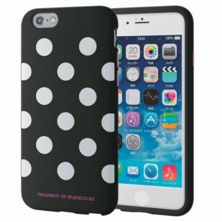 シリコンケース ドット ブラック iPhone 6s
