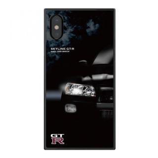 【iPhone Xケース】日産(NISSAN) GT-R スクエア型 R34 iPhone X