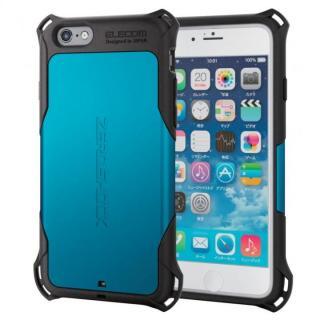 耐衝撃ケース ZEROSHOCK ブルー iPhone 6s